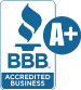 Temple Villas is rated A+ by the BBB.